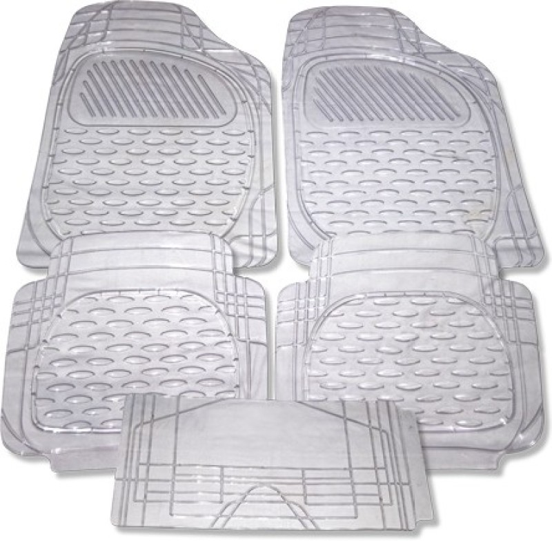 Auto Hub Rubber Car Mat For Maruti Suzuki Zen Estilo(Clear)