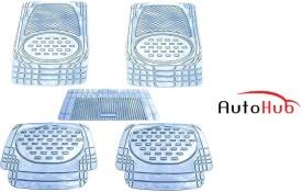 Auto Hub PVC, Rubber Car Mat For Nissan Sunny(Clear)
