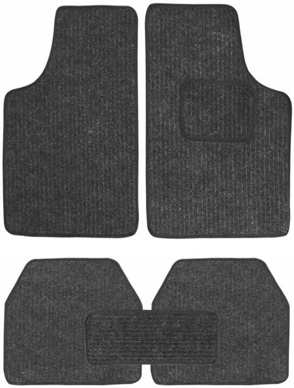 AutoKraftZ Fabric Car Mat For Chevrolet Optra(Black)