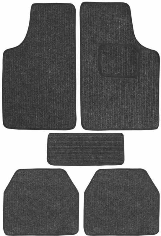 AutoKraftZ Fabric Car Mat For Renault Terrano(Black)