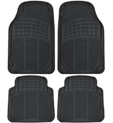 AutoSun Rubber Car Mat For Maruti Suzuki Kizashi(Black)