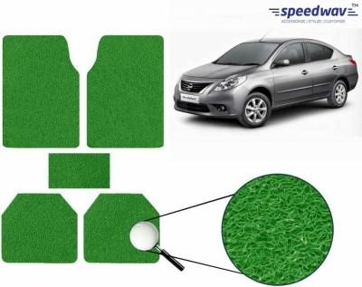 Speedwav Rubber Car Mat For Nissan Sunny