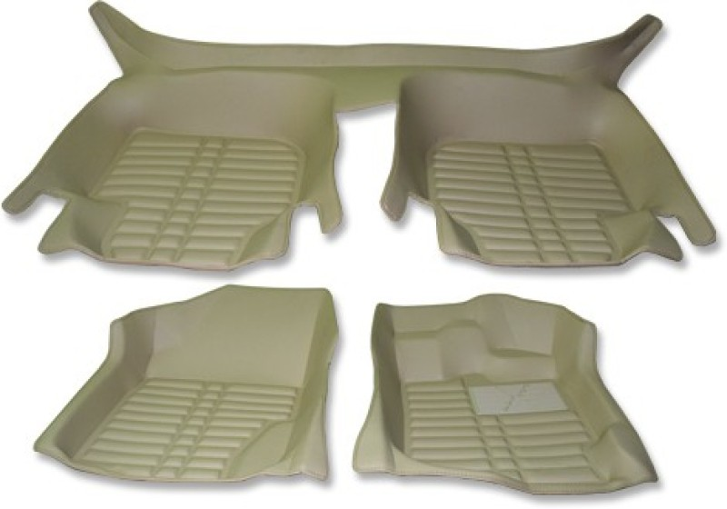 Auto Hub Plastic Car Mat For Ford Ecosport(Beige)