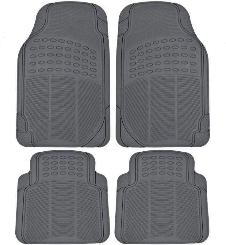 FloMaster Rubber Car Mat For Hyundai Santro Xing(Grey)