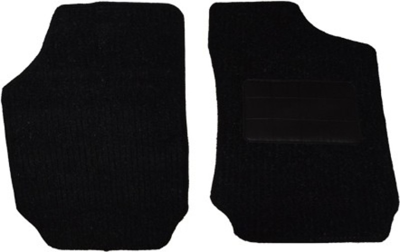 Auto Hub Fabric Car Mat For Nissan Micra(Black)
