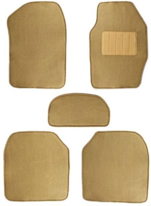 AutoKraftZ Fabric Car Mat For Skoda Laura(Beige)