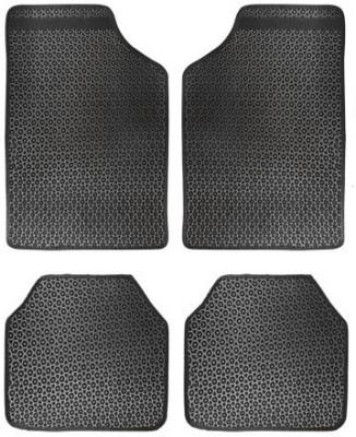 Vheelocityin Rubber Car Mat For Volkswagen Jetta(Black)