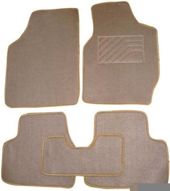Viral Shopping Fabric Car Mat For Toyota Fortuner(Beige)