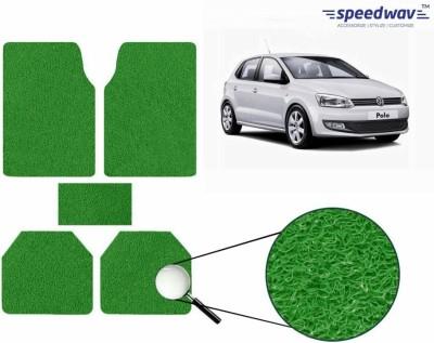 Speedwav Rubber Car Mat For Volkswagen Polo