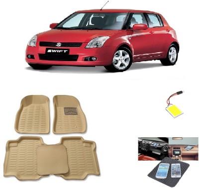 ShopAddict PVC Car Mat For Maruti Suzuki Swift Dzire, Swift