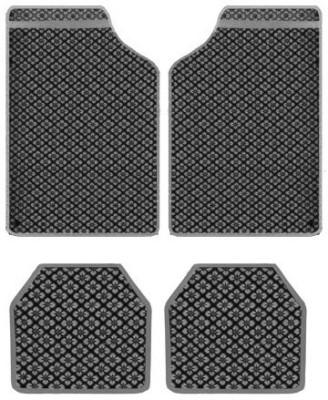 Vheelocityin Rubber Car Mat For Maruti Suzuki Swift(Black)