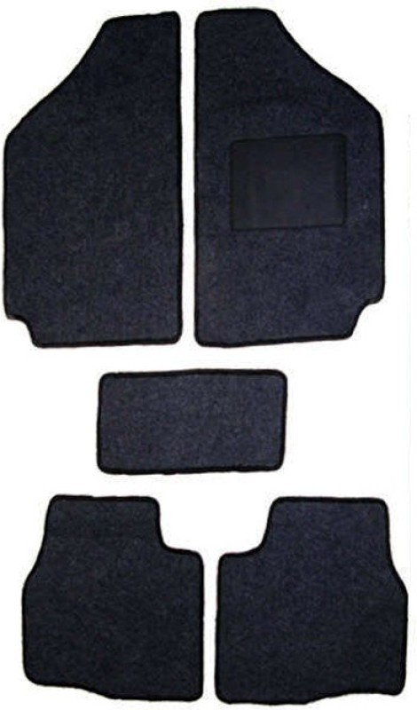 DGC Fabric Car Mat For Maruti Suzuki Swift Dzire(Black)