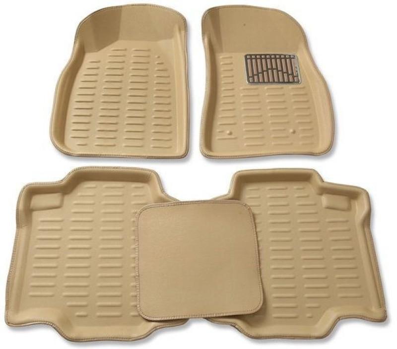 AutoKit Microfibre Car Mat For Renault Duster(Beige)