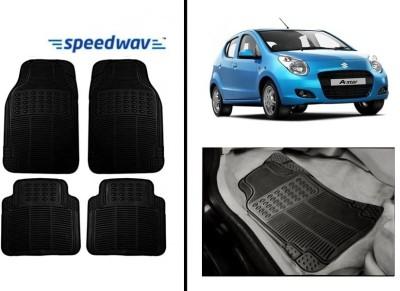 Speedwav Rubber Car Mat For Maruti A-Star