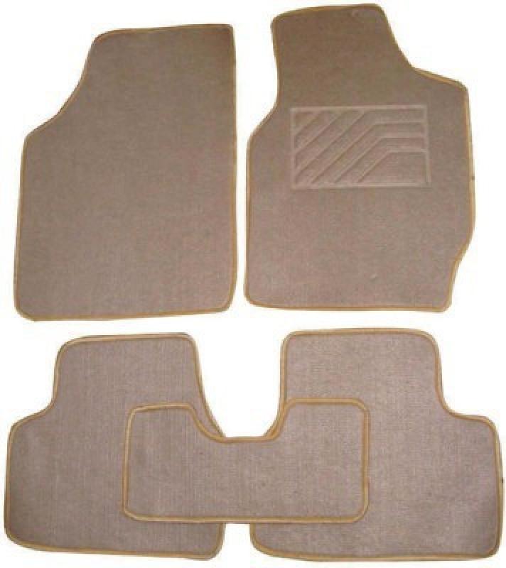 Viral Shopping Fabric Car Mat For Hyundai Elite i20(Beige)