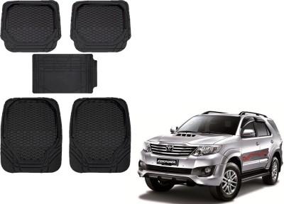Kozdiko Rubber, PVC Car Mat For Toyota Fortuner(Black)