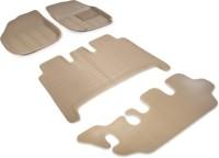 Auto Hub Plastic Standard Mat For  Mahindra XUV 500(Beige)