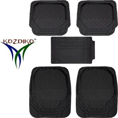 Kozdiko Rubber, PVC Standard Mat For Honda Amaze(Black)