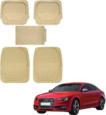Kozdiko Rubber, PVC Car Mat For Audi S5(Beige)