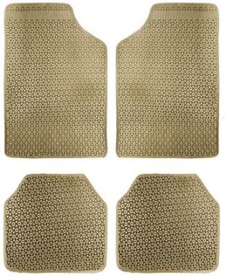 Vheelocityin Rubber Car Mat For Hyundai Tucson(Beige)