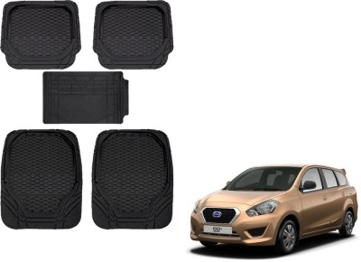 Kozdiko Rubber, PVC Car Mat For Datsun Go+(Black)