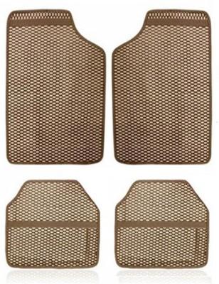 Vheelocityin Rubber Car Mat For Toyota Etios(Beige)