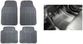 Himmlisch SET OF 4 Rubber Car Floor / Foot Mats - Grey Car Mat Ford Ecosport