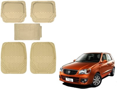 Kozdiko Rubber, PVC Car Mat For Maruti Suzuki Alto K10(Beige)