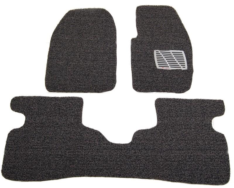 Alrub PVC Car Mat For Honda City(Black, Grey)