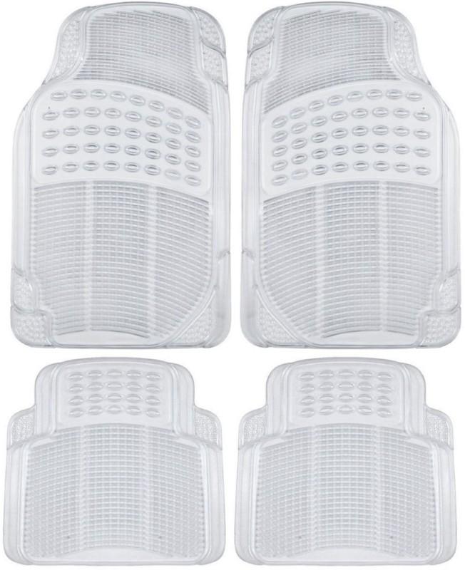 FloMaster Rubber Car Mat For Ford Figo(White)