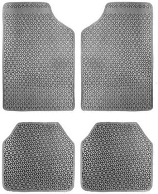 Vheelocityin Rubber Car Mat For Chevrolet Tavera(Grey)