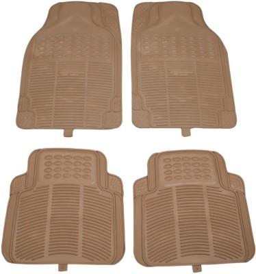 AutoGarh Rubber Car Mat For Skoda Rapid