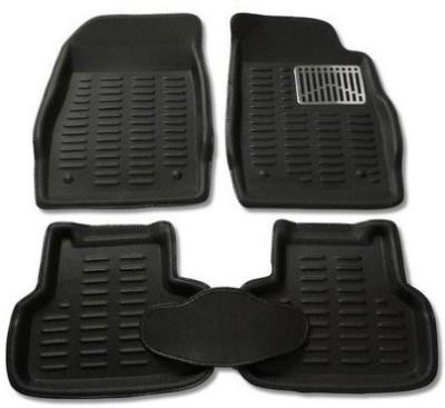 3D KAGU Plastic Car Mat For Maruti Suzuki Swift(Black)