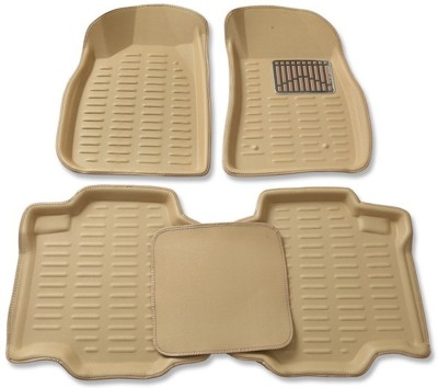 Fiesta Polyester, Rubber, Microfibre, PVC Car Mat For Honda Amaze