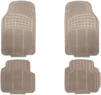 FloMaster Rubber Standard Mat For  Hyundai Santro Xing(Beige)