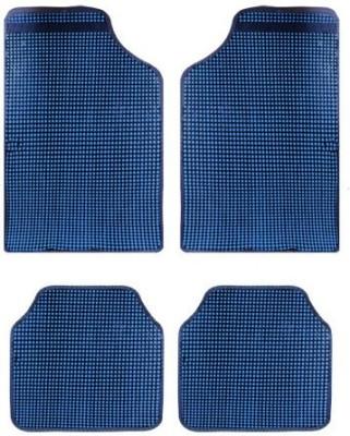 Vheelocityin Rubber Car Mat For Hyundai Eon(Blue)