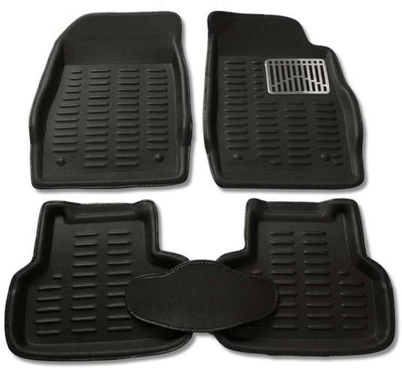 CP Bigbasket Plastic Car Mat For Mahindra XUV 500(Black)