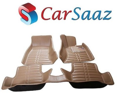 Carsaaz Fabric Car Mat For Skoda Rapid