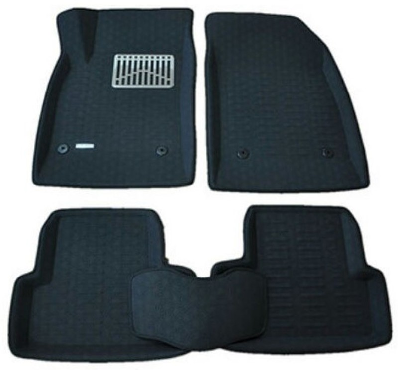 AutoParx Vinyl Car Mat For Hyundai Xcent(Black)