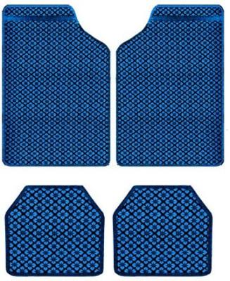 Vheelocityin Rubber Car Mat For Mahindra Scorpio(Blue)