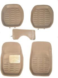 Falcon Rubber Car Mat For Toyota Etios Cross(Beige)