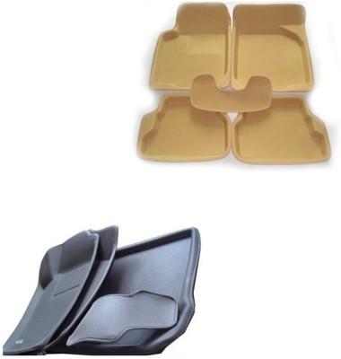 Take Care Polyester, Plastic Car Mat For Hyundai i10