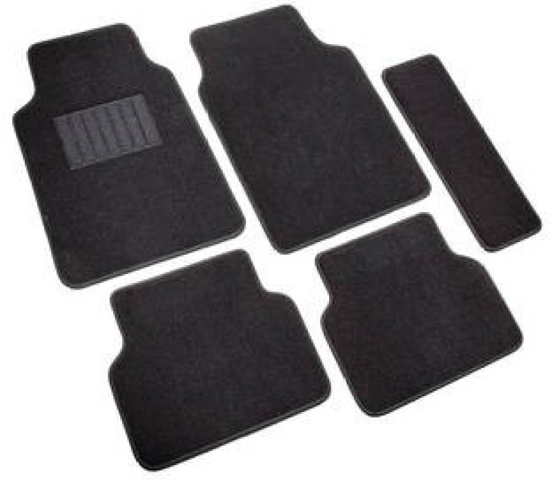 Viral Shopping Fabric Car Mat For Chevrolet Enjoy(Black)