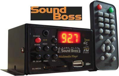 Sound Boss SB-80 Car Stereo