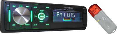 Sound Boss USB/FM/Detachable Panel ID3 + Bluetooth Dongle for Music Car Stereo