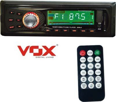 Vox 1101 Car Stereo 4 Channel with FM, SD Card support, USB, AUX in and LCD Display Car Stereo