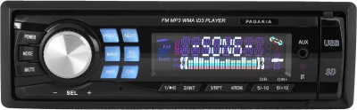 PAGARIA FM/USB/Fixed Panel ID3 + Bluetooth Dongle for Music Car Stereo(Single Din)