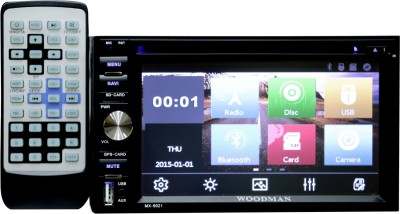 Woodman Double Din WM-8080 With DVD, Bluetooth, USB Car Stereo