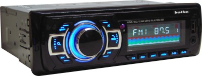 Sound Boss SB-33 Bluetooth Wireless With Phone Caller Id Receiver Car Media Player