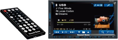 Sound Boss 2DIN Bluetooth Car Video Player 7,, HD Touch Screen Stereo Radio FM/MP3/MP4/MP5/Audio/USB/TF/AUX Car Stereo